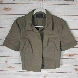Narciso Rodriguez crop jacket